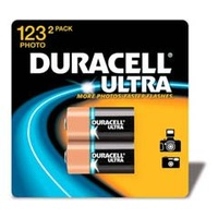 Duracell Procell DL123AB2 3V Lithium - Twin Pack