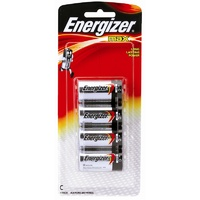 Energizer C Alkaline Battery - 4 Pack