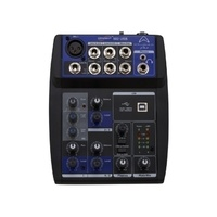 Wharfedale CONNECT502USB Connect502 micro-mixer with USB, 5 inputs, 2 outputs