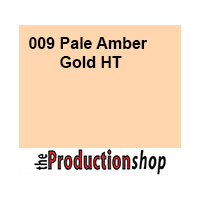 Lee 009 Pale Amber Gold High Temperature