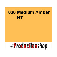 Lee 020 Medium Amber High Temperature