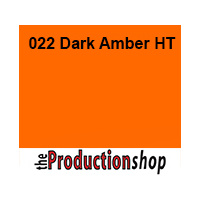 Lee 022 Dark Amber High Temperature