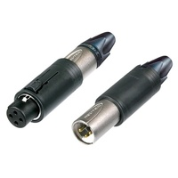Neutrik 3 pole unisex XLR cable connector - Nickle housing