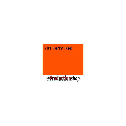 Lee 781 Terry Red - Half Sheet